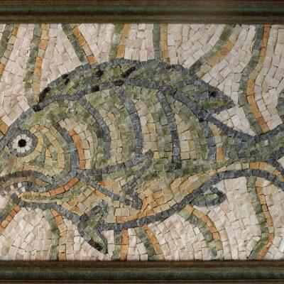 Копия византийской мозаики, Ливия, 6 век, музей Qasr.
