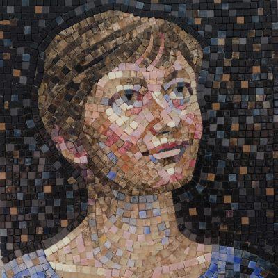 Автопортрет. Юлия Ульянова, 2020.