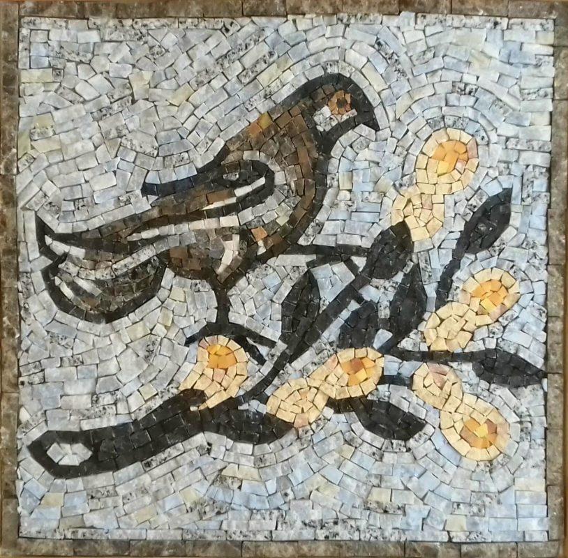 Копия мозаики из Аквилеи, датируемой 4 веком н.э.