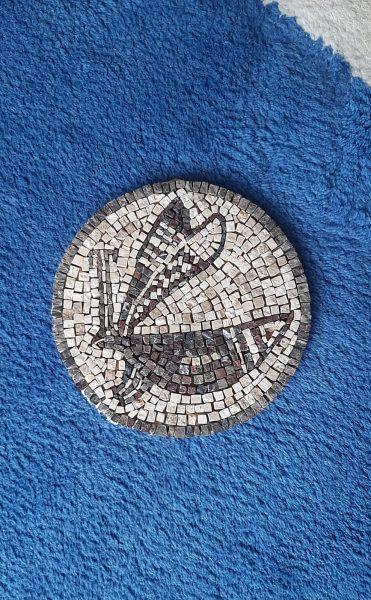 Дарья Бадальян 20 х 20 х 1 см. Натуральный камень. Цена: 5000 р
